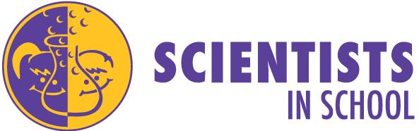 Scientists in school logo